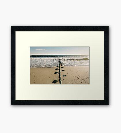 Rockaway Beach Framed Print