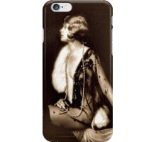 Ziegfeld girl - Muriel Finlay iPhone Case/Skin