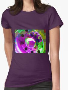 Truck Chrome Womens Fitted T-Shirt