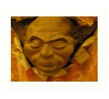 Cold cast Bronze Sculpture Art Print