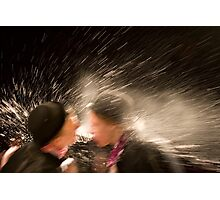 Spraying Bowlers Photographic Print