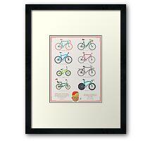 Bicycle Season Framed Print