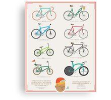 Bicycle Season Canvas Print
