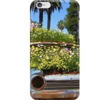 A Blooming Old Car iPhone Case/Skin