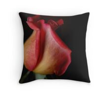 Shadow of a Rose Throw Pillow
