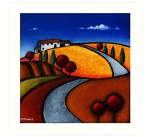 Umbrian Retreat Art Print
