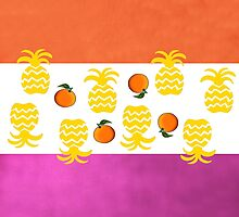 7 DAYS OF SUMMER- TROPPOBOHO orange and pink by 7 days of Summer