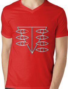 Seele Symbol Mens V-Neck T-Shirt