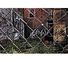 Abandoned Lot II Photographic Print