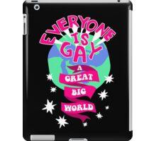Everyone Is Gay iPad Case/Skin