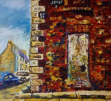 On Joy Street, Belfast, Prior to Restoration, (the place where my father was born). by Laura Butler