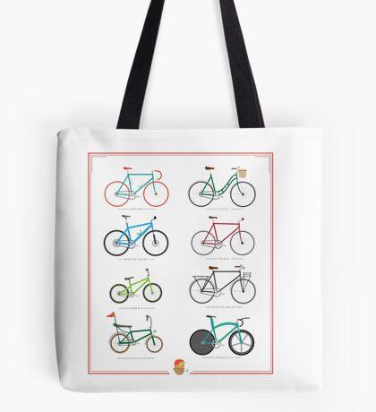 Bicycle Season Tote Bag