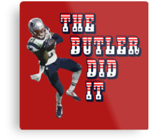 The Butler Did It - New England Patriots Malcolm Butler 21 Metal Print