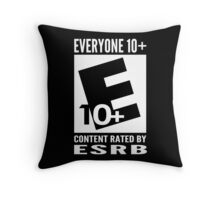Everyone Rating Throw Pillow