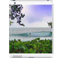 Surfer Dude In Bocas Del Toro - Panama iPad Case/Skin
