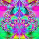 Floral Kaleidoscope  by Chris  Willis