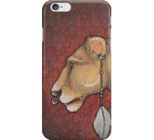 Lioness Adorned iPhone Case/Skin