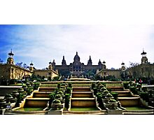 Palau Nacional - Barcelona, Spain Photographic Print