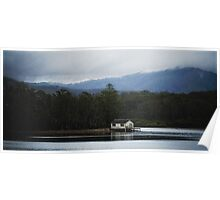 Clyde River Boat Shed Poster