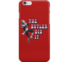 The Butler Did It - New England Patriots Malcolm Butler 21 iPhone Case/Skin