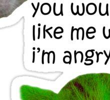 Kitty Hulk Sticker