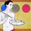 Plate or Palette by Simone Maynard