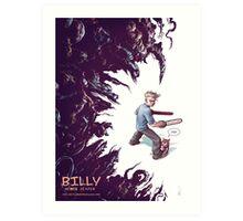 Billy: Demon Slayer Art Print