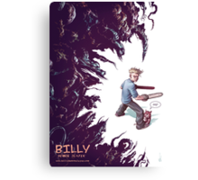 Billy: Demon Slayer Canvas Print
