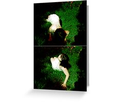 where the wild roses grow Greeting Card