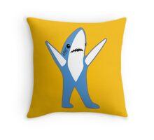 Katy Perry Half Time Performance Dancing Tsundere the Shark Throw Pillow