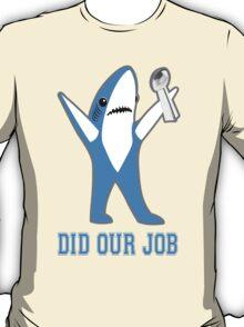 Katy Perry Tsundere the Shark - Patriots Lombardi Trophy T-Shirt