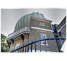 Greenwich Observatory Poster