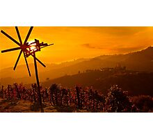 Sunset in Kitzeck Photographic Print