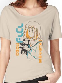 FLCL Mamimi and Ta-kun Women's Relaxed Fit T-Shirt