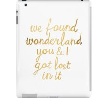 Wonderland iPad Case/Skin