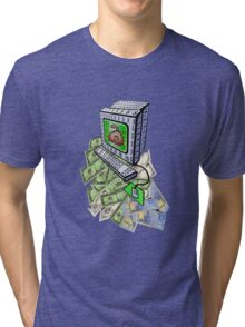 Just Numbers In Computers Tri-blend T-Shirt