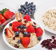 Oatmeal and Berries by dbvirago