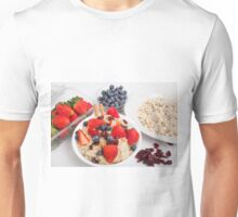 Oatmeal and Berries Unisex T-Shirt