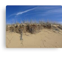 Dune, and Sky Canvas Print