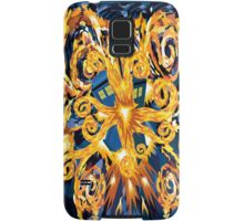 Exploded Phone booth Digital painting Samsung Galaxy Case/Skin