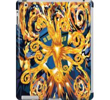 Exploded Phone booth Digital painting iPad Case/Skin