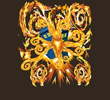 Exploded Phone booth Digital painting T-Shirt