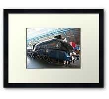 Mallard Steam Engine Framed Print