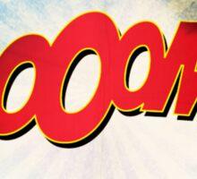 Comic BOOM Sticker