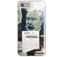 UN CABALLERO Y UNA VIRGEN DESNUDA (a gentleman and a naked virgin) iPhone Case/Skin