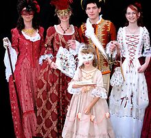 The Royal Court by VeniceCarnival