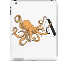 How am I gonna be an octopus about this - Orange iPad Case/Skin