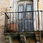 abandoned balcony by keki