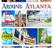 Scenes From Around Atlanta Montage by Mark Tisdale