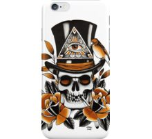 Slash - Skull and Roses iPhone Case/Skin
